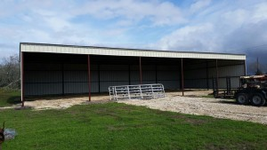 Shed for farm and ranch improvement