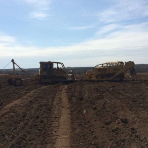 Graham Construction Land Clearing in Texas.